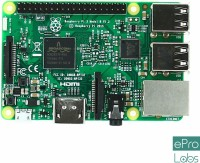 EPRO LABS Raspberry Pi 3 Model B(White)