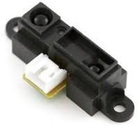 Robosoft systems Sharp Distance Sensor Gp2y0a21y0f (10cm-80cm)(Black)