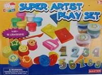 RR Enterprizes Super Artist Clay Arts Set(Multicolor)