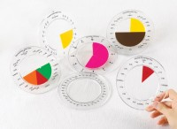 Math Buddy Labs Fraction Rings(White)