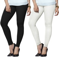 Lux Lyra Legging(Black, White, Solid)