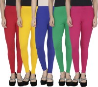 Anekaant Legging For Girls(Maroon Pack of 5)