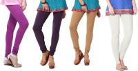Angel Soft Legging(Purple, Purple, Beige, White, Solid)
