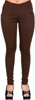 LGC Women's Brown Jeggings