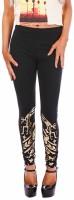 Fairground Womens Black Leggings