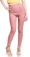 Miss Chase Women's Pink Jeggings