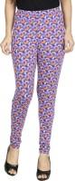 Anekaant Legging(Purple, Multicolor, Paisley)