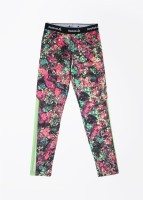 Reebok Legging For Girls(Multicolor)