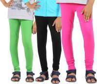 Greenwich Legging For Girls(Green)
