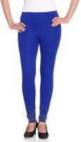 Vanita Womens Blue Leggings