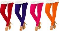 Charu Boutique Legging(Multicolor, Woven)