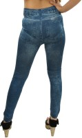 Glam Quotient Blue Jegging(Printed)