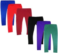 Fashionitz Legging For Girls(Multicolor)