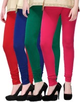 2 Day Legging(Red, Dark Blue, Pink, Dark Green, Solid)