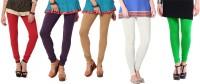 Angel Soft Legging(Red, Purple, Beige, White, Green, Solid)