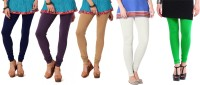 Angel Soft Legging(Blue, Purple, Beige, White, Green, Solid)