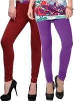 NGT Legging(Purple, Maroon, Solid)