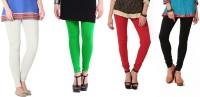 Angel Soft Legging(White, Green, Red, Black, Solid)