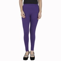 Anekaant Legging For Girls(Purple Pack of 1)