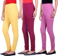Belmarsh Womens Multicolor Leggings(Pack of 3)