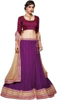 Kanheyas Embroidered Womens Lehenga, Choli and Dupatta Set(Stitched)