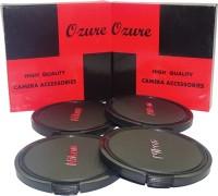 Ozure SECLCN77B  Lens Cap(Black + Silver Embossed, 77 mm)