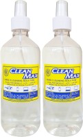 Cleanmax cleaning solution for Mobiles/Laptops/Lcd Monitors & Electronic boards.  Lens Cleaner(1000 ml, No Cloth inch, Pack of 2)