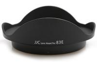 JJC LH-83E  Lens Hood(Black)