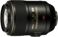 Nikon AF-S VR Micro-Nikkor 105 mm f/2.8G IF-ED Lens  Lens(Black)