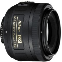 Nikon AF-S DX NIKKOR 35 mm f/1.8G Lens  Lens(Black)