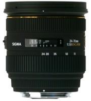 Sigma 24 - 70 mm F2.8 IF EX DG HSM Lens  Lens(Black, 100 - 400mm)