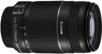 Canon EF-S 55 - 250 mm f/4-5.6 IS II Lens(Black)