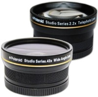 Polaroid .43X Hd Wide Angle Lens  Lens(Black, 52)