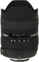Sigma 8 - 16 mm F4.5-5.6 DC HSM for Nikon Digital SLR  Lens(Black)