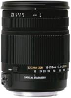Sigma 18 - 250 mm F3.5-6.3 DC Macro OS for Nikon Digital SLR  Lens(Black)