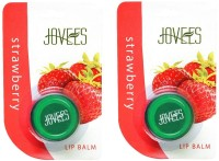 Jovees Strawberry Lip Balm Pack Of 2 Berry(Pack of: 2, 10 g)