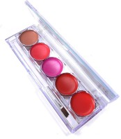 Kiss Beauty Lip Gloss palette 5FAB(10 g, Multicolor) - Price 175 80 % Off