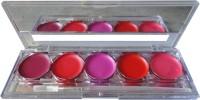 Kiss Beauty Lip Gloss palette 5(10 g, Multicolor) - Price 175 78 % Off