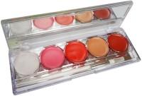 Kiss Beauty LippGloss-24HrWaterproof-LongLasting-9647-2(16 g, Multicolor)