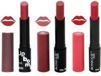 Bonjour Paris Super Matte Lipstick Combo 138(10.5 g, Multicolor,)