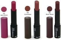 Bonjour Paris Color Cap Lipstick 02-04-05(Multicolor, 10.2 g)