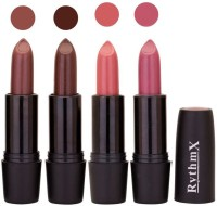 Rythmx Black Important Lipstick Combo 13(16 g, Multicolor,)