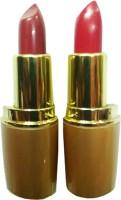 Rythmx Golden Hot Lipstick 6(Ruby Red, Rusty Nude, 8 g)