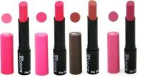 Bonjour Paris Creamy Matte Lipstick 0502164 A(14 g, Pink, Magenta, Pink, Wine)