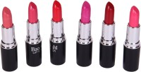 Looks United Baoiishi Set of 6 Premium Lipsticks(3.5 g, Multi)