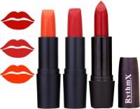 Rythmx OTG Coffee Fantasy Orange,Shiny Red,Red, Colour Shades Lipstick(1291 Multicolor)