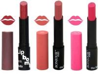 Bonjour Paris Super Matte Lipstick Combo 143(10.5 g, Multicolor,)