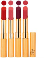 Rythmx easy to wear lipstick set fashion women beauty makeup(8.8 g, VT-02-05) - Price 374 76 % Off