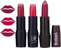 Rythmx OTG Burgundy,Pink,Wine Colour Shades Lipstick 11(Multicolor,)