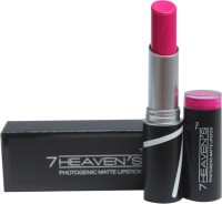 7 Heaven's PhotoGenic Matte Lipstick(3.8, Rose)